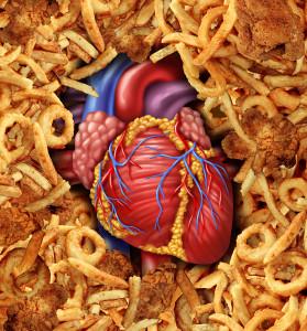 Trans fat coronary heart disease